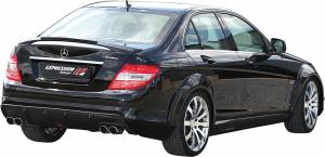 Performance Products® - Mercedes® Caron Fiber Insert For Expression Wing, 2008-2009 (204)