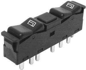 Performance Products® - Mercedes® Center Console Window Switch, Front Left, 1981-1985 (123/126)
