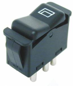 Performance Products® - Mercedes® Window Switch, Center Console, 5 Pin, 1982-1989 (107)