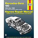 Performance Products® - Mercedes® Book, Haynes Service Manual, 1984-88 190E 2.3 Gas Engine