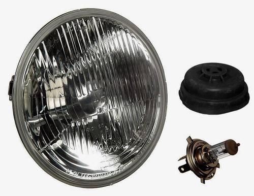"HELLA - Mercedes® Headlight, European, 7"" Round Single, 1954-2014"