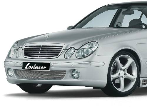 Performance Products® - Mercedes® Lorinser® DTM Front Bumper With Fog Lights, 2007-2009 (211)