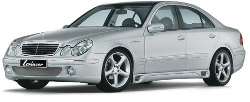 Performance Products® - Mercedes® Lorinser® Side Skirts, 2007-2009 (211)