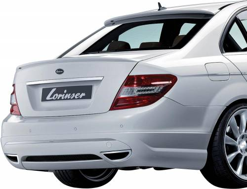 Performance Products® - Mercedes® Lorinser® Rear Bumper, For Cars Without Parktronic, 2008 (204)