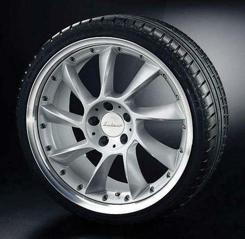 Performance Products® - Mercedes® Lorinser® RSS Wheel, 19 x 8.5, Silver, C350/C300, 2008-2008