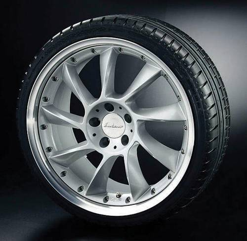 Performance Products® - Mercedes® Lorinser® RSS Wheel, 19 x 9.5, Silver, C350/C300, 2008-2008