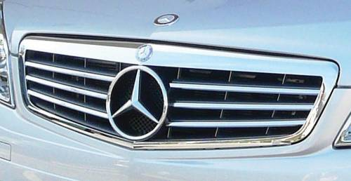 Performance Products® - Mercedes® OEM Sports Grille, Classic Chrome, OE Star Included, 2008 (204)