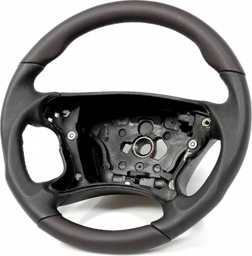 Performance Products® - Mercedes® Steering Wheel, Sports Style, All Leather, Black, AMG Tiptonic, 2007-2008