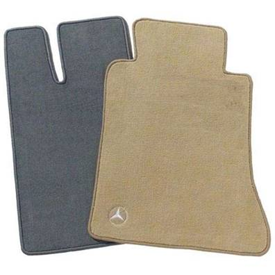 GENUINE MERCEDES - Mercedes® OEM Floor Mats, 4-Piece, Shell, AMG Logo, Non-4-Matic, 2007-2008 (221)