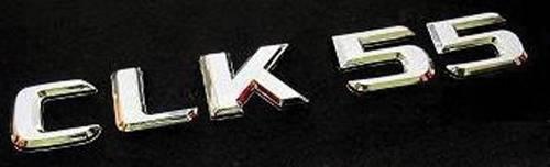 "GENUINE MERCEDES - Mercedes® OEM Emblem, ""CLK55"" Decklid, 2001-2009 (208/209)"