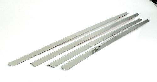Performance Products® - Mercedes® Window Sill Trim Set, 4-Piece, Stainless Steel, 2001-2007 (203)