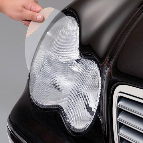 Performance Products® - Mercedes® X-Pel Lens Protection, Headlight And Foglight, Stone-Guard, 4-Piece, Pre-Cut, 2005-2006 (203)
