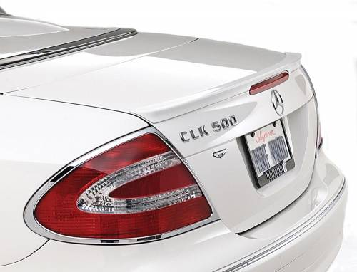 Performance Products® - Mercedes® Tail Light Trim Rings, Chrome, 2007-2009 (216)
