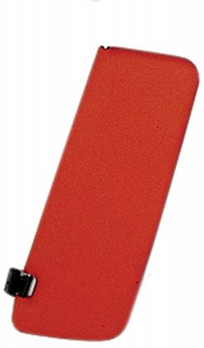 WORLD UPHOLSTERY - Mercedes® Sun Visor, Left Red, 450SLC/450SL, 1973-1979