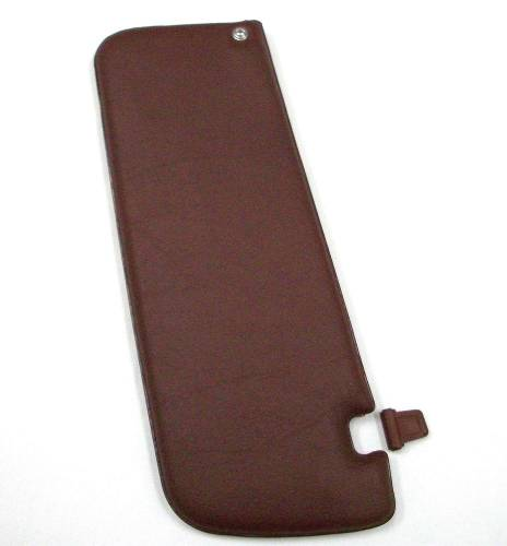 WORLD UPHOLSTERY - Mercedes® Sun Visor, Left, Middle Red, Replica,1980-1989 (107)