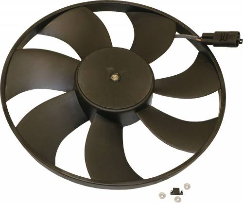 GENUINE MERCEDES - Mercedes® OEM Auxiliary Fan Motor Assembly, 1998-2004 (170/208)
