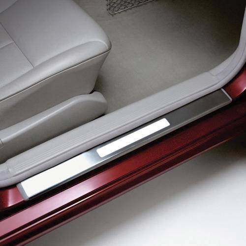 Performance Products® - Mercedes® Door Sill Plates Kit, Illuminated, 2007-2009 (221)