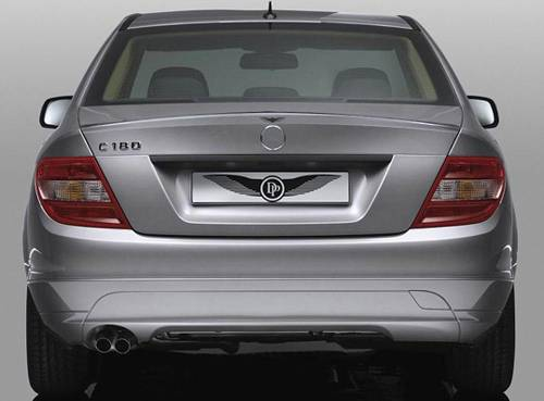 Performance Products® - Mercedes® Deck Lip Spoiler, Dynamic Performance, 2008-2010 (204)