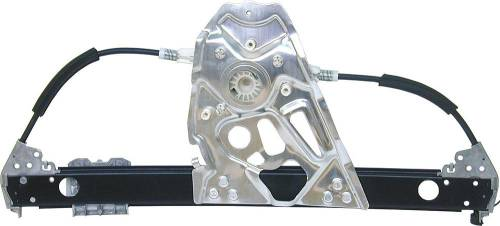 Performance Products® - Mercedes® Window Regulator Without Motor, Rear Left,  2000-2002 (220)