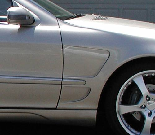 Performance Products® - Mercedes® Steel Fenders, F1 Style, Pair, 2000-2006 (220)