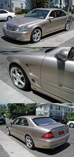 Performance Products® - Mercedes® Fenders, Sports Aero L-Style Body Kit, 2003-2006 (220)