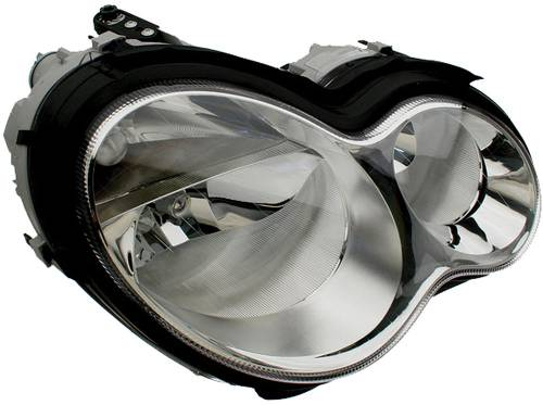HELLA - Mercedes® Headlight Assembly, Clear, Right, 2005-2006 (203)