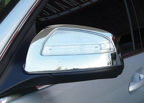 Performance Products® - Mercedes® Mirror Covers, Chrome, Pair, 2008-2009 (204)