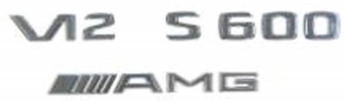 "GENUINE MERCEDES - Mercedes® Emblem, ""S55"", Decklid, 2001-2006 (220)"