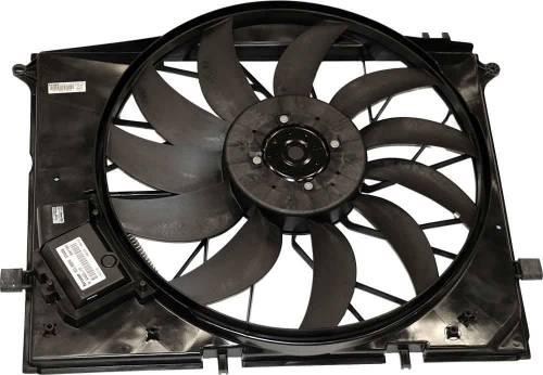 HELLA - Mercedes® Auxiliary Fan Assembly, 2001-2006 (220)