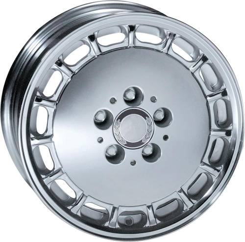 Performance Products® - Mercedes® Euromeister 15 Hole Wheel, 15 X 7, Chrome, 25MM ET, 1973-1991