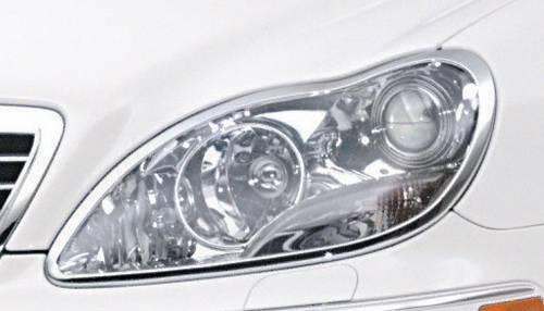 HELLA - Mercedes® Headlight Assembly, Left, Xenon, 2000-2006 (220)
