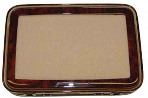 Performance Products® - Mercedes® Rear Cosmetic Mirror Covers, Matte Burlwood, Pair, 2007 (221)