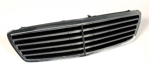 Performance Products® - Mercedes® Grille, 3 Rib, Black, 2001-2007 (203)