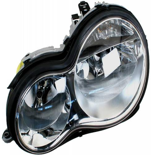 HELLA - Mercedes® Headlight Assembly, Halogen, Left, 2005-2006 (203)