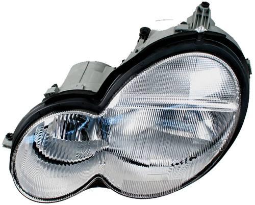 HELLA - Mercedes® Headlight Assembly, Halogen, Left, 2002-2004 (203)