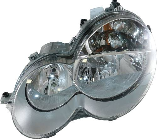 GENUINE MERCEDES - Mercedes® OEM Headlight Assembly, Halogen, Left, 2005 (203)