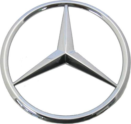 GENUINE MERCEDES - Mercedes® OEM Grille Star, 2007-2008 (221)