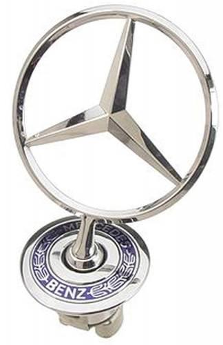 GENUINE MERCEDES - Mercedes® Hood Star Emblem 1994-2007