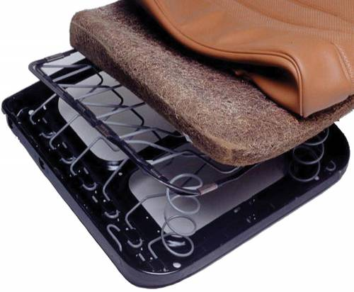GAHH - Mercedes® Seat Cushion Pads, Lower, 1981-1988
