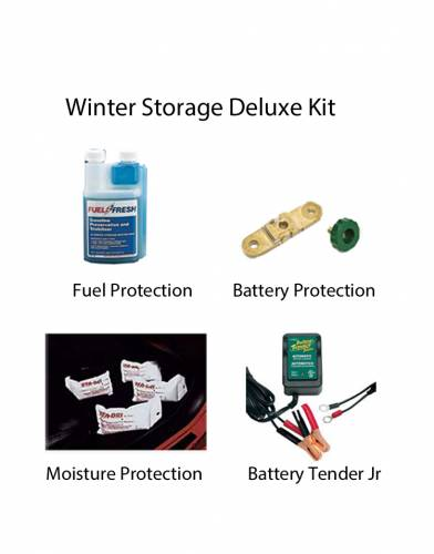 Performance Products® - Winter Storage Protection Kit, Deluxe With Side Post Battery