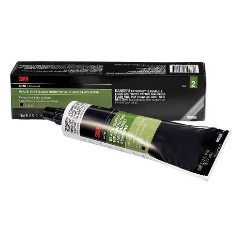 Performance Products® - 3M Black Super Weatherstrip Adhesive 5 OZ Tube