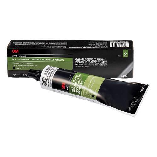 Performance Products® - 3M Black Super Weatherstrip Adhesive 5 OZ Tube