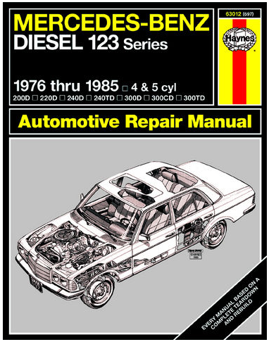 Performance Products® - Mercedes® Book, Haynes Service Manual, 240D/300D/300TD, 1977-85