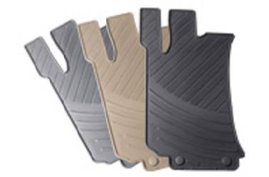 GENUINE MERCEDES - Mercedes® OEM Floor Mats, All-Season, 4-Piece, Gray, 2003-2009 (209)