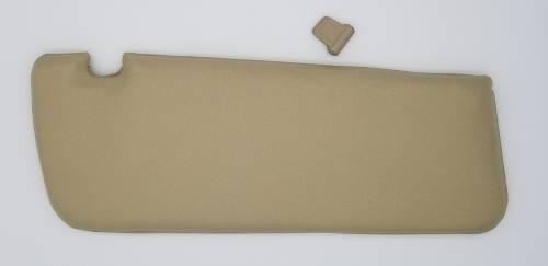WORLD UPHOLSTERY - Mercedes® Sun Visor, Left, Parchment, 1973-1979 (107)