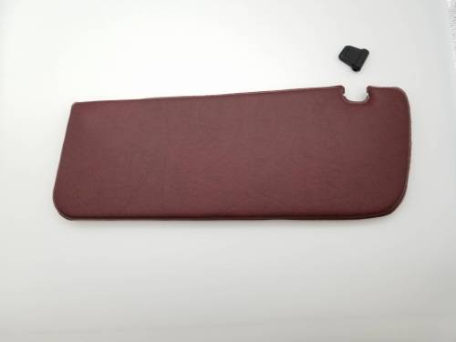 WORLD UPHOLSTERY - Mercedes® Sun Visor, Middle Red, Replica, 1980-1989 (107)