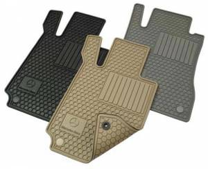 GENUINE MERCEDES - Mercedes® OEM Floor Mats, All-Season, 4-Piece Beige, 2003-2009 (209) - Image 2